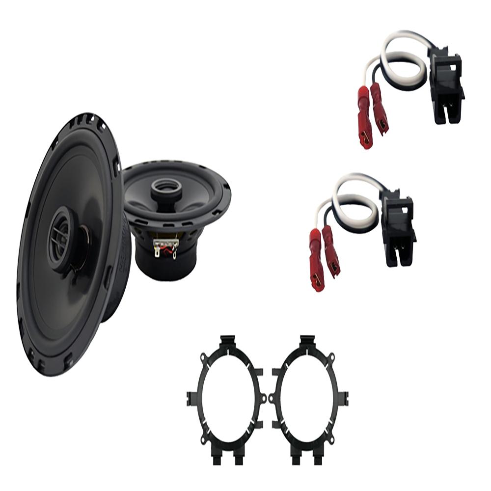 Fits GMC Sierra HD 2001-2002 Front Door Replacement Harmony HA-R5 Speakers New