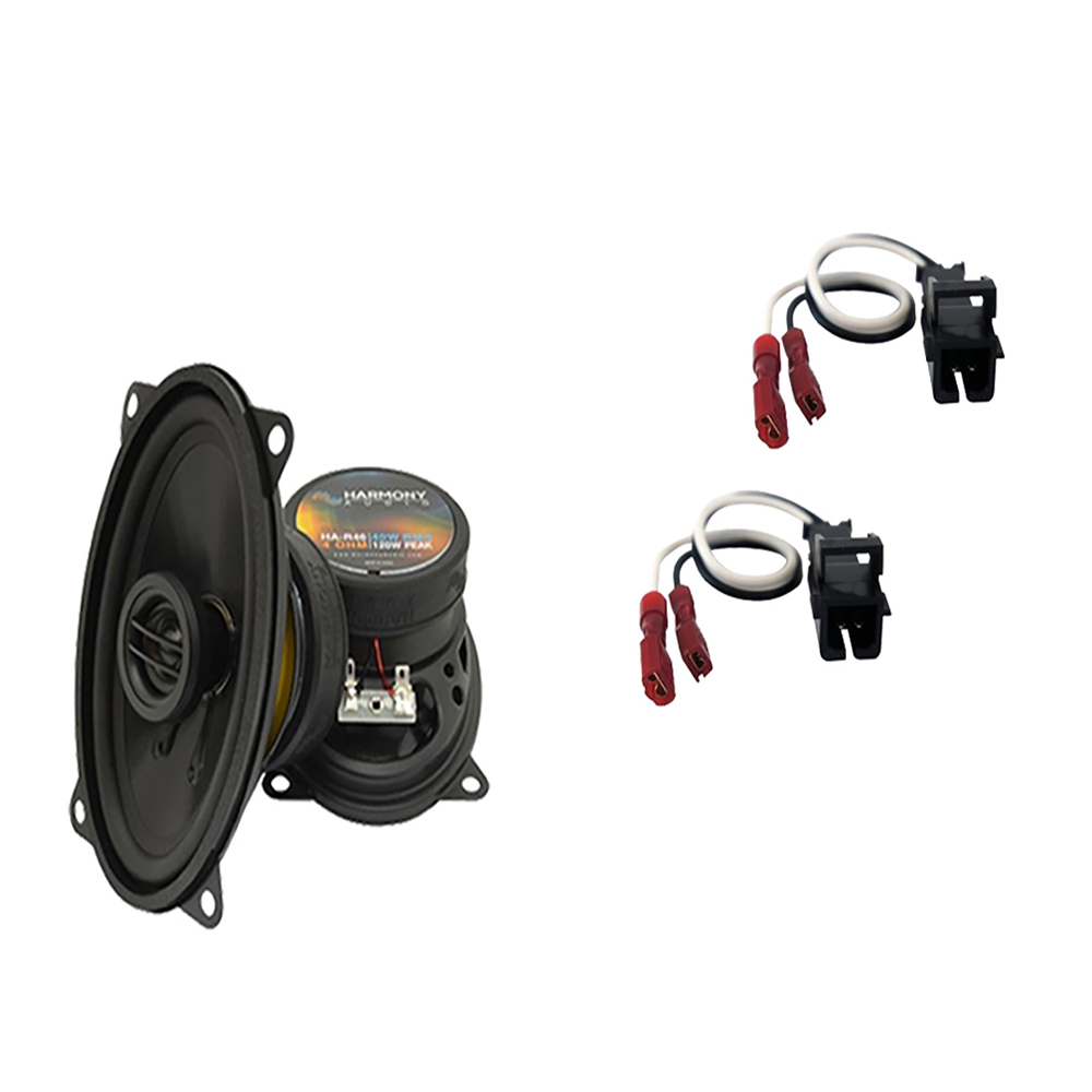Fits GMC Sierra HD 2001-2002 Front Pillar Replacement Harmony HA-R46 Speakers