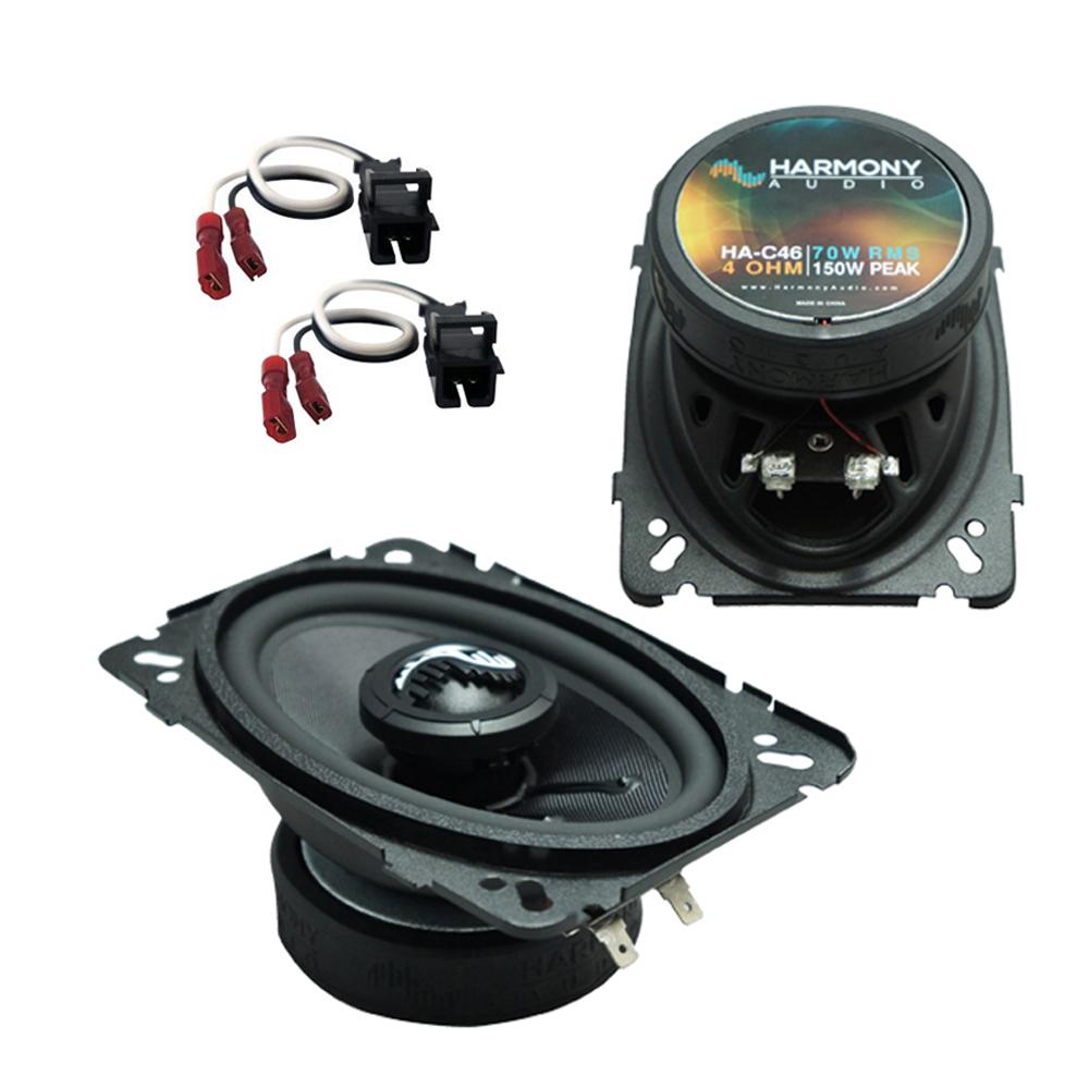 Fits GMC Suburban 1992-1994 Front Dash Replacement Harmony HA-C46 Premium Speakers New