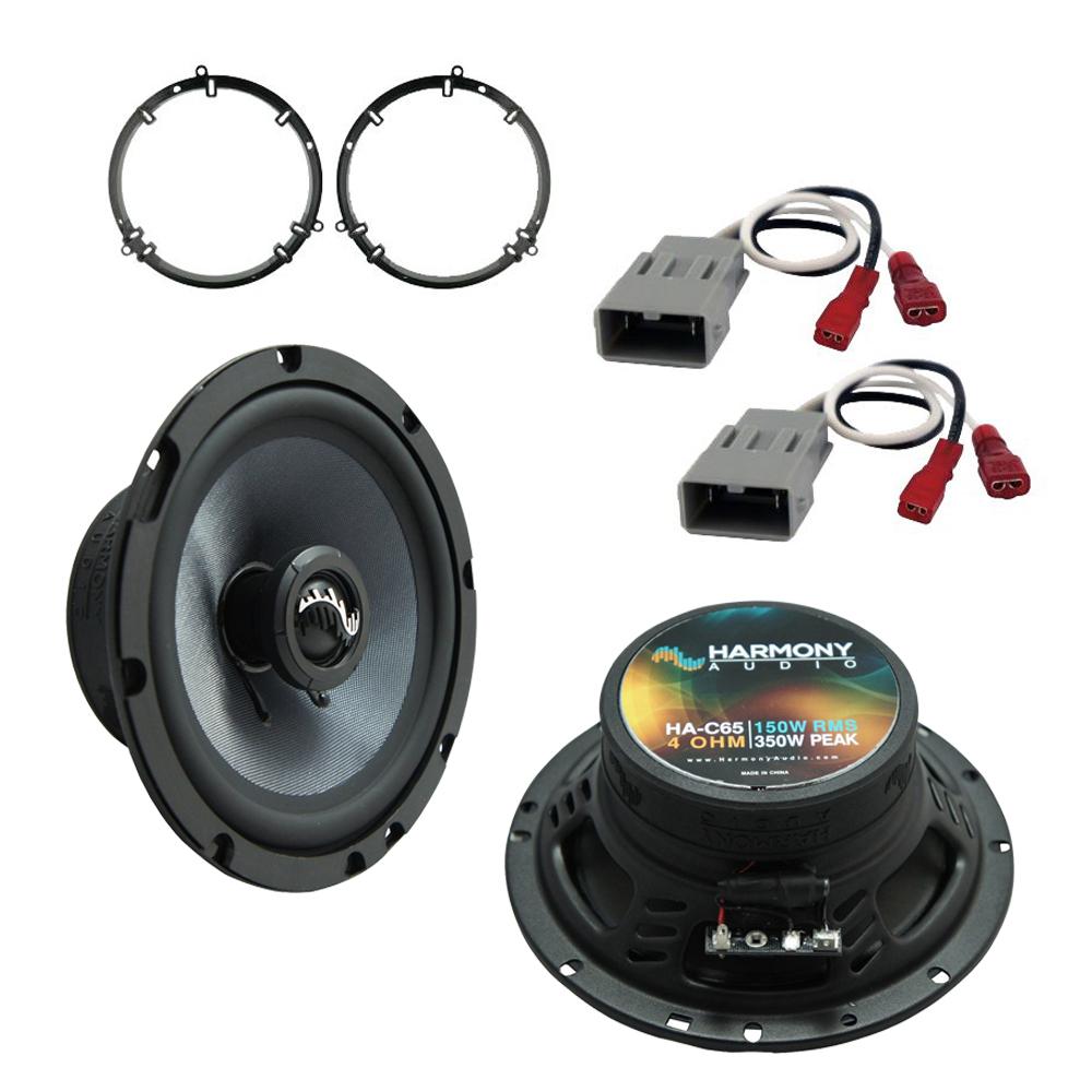 Fits Honda Civic 2001-2005 Front Door Replacement Harmony HA-C65 Premium Speakers New