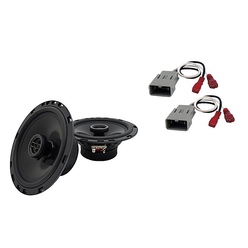 Fits Honda CRX 1988-1991 Front Door Replacement Speaker Harmony HA-R65 Speakers