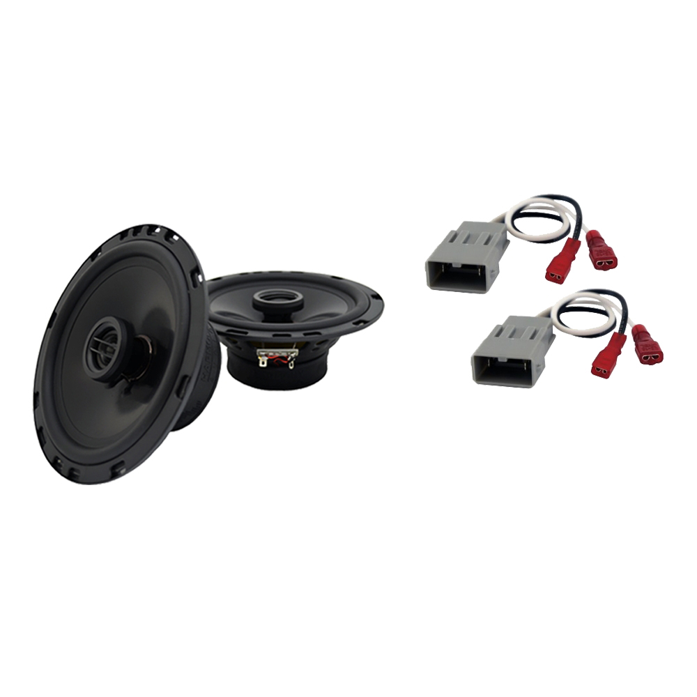 Fits Honda Prelude 1986-1987 Rear Deck Replacement Harmony HA-R65 Speakers New