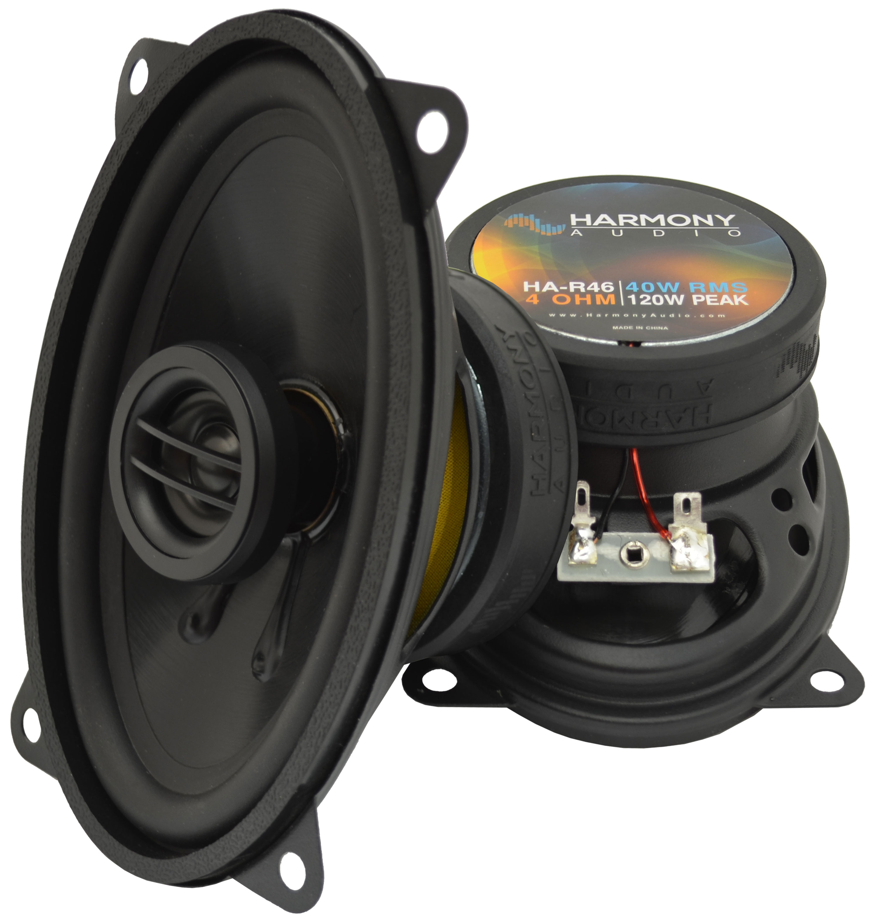 Fits BMW 5 Series 1979-1989 Rear Deck Replacement Harmony HA-R46 Speakers New