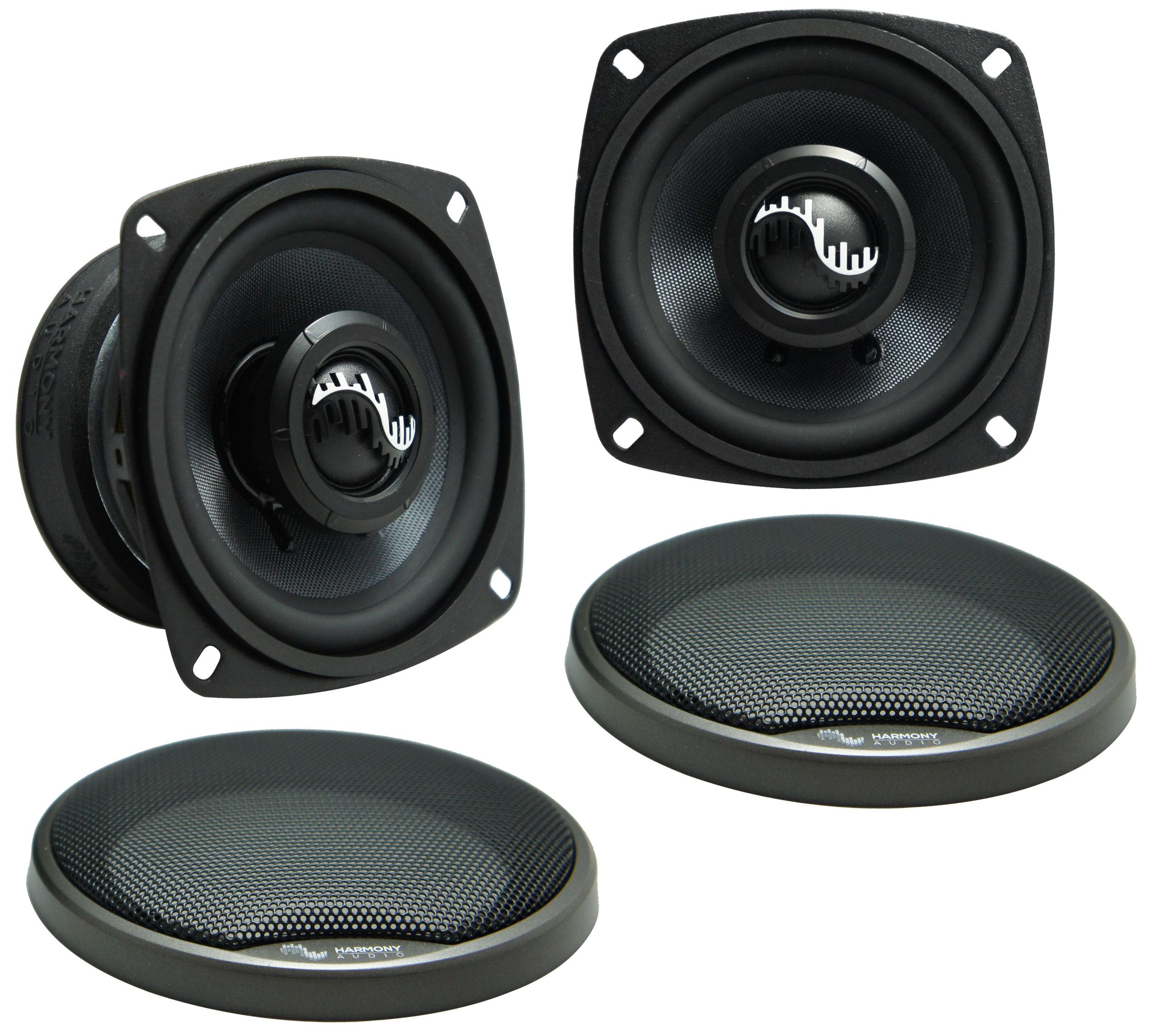 Fits Hyundai Accent 2006-2011 Front Door Replacement Harmony HA-C4 Premium Speakers New