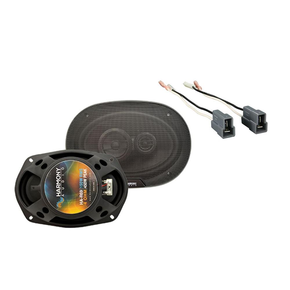 Fits Hyundai Elantra 1996-2000 Rear Deck Replacement Harmony HA-R69 Speakers New