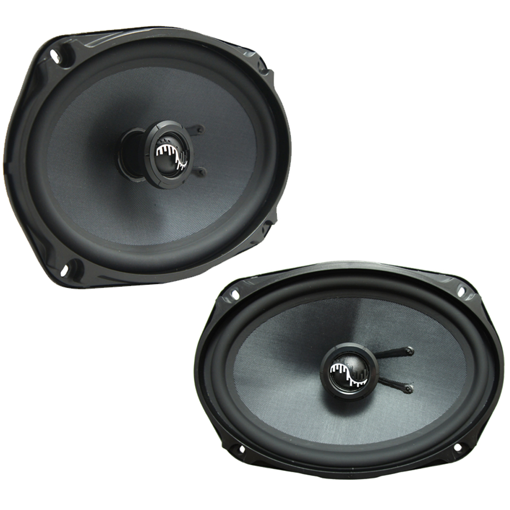 Fits Hyundai Elantra 2001-2006 Rear Deck Replacement Harmony HA-C69 Premium Speakers