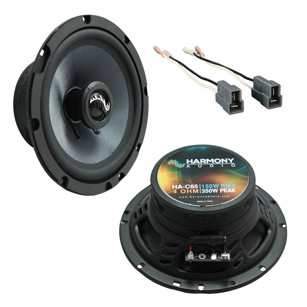 Fits Hyundai Santa Fe 2001-2006 Front Door Replacement Harmony HA-C65 Premium Speakers