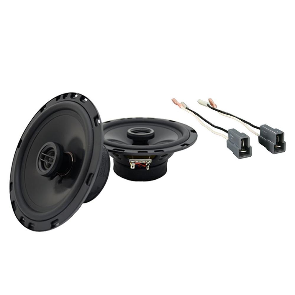 Fits Hyundai Santa Fe 2001-2006 Front Door Replacement Harmony HA-R65 Speakers
