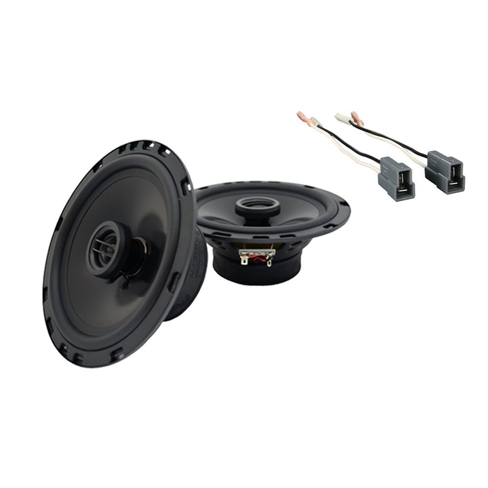 Fits Hyundai Sonata 1997-1998 Rear Deck Replacement Harmony HA-R65 Speakers New