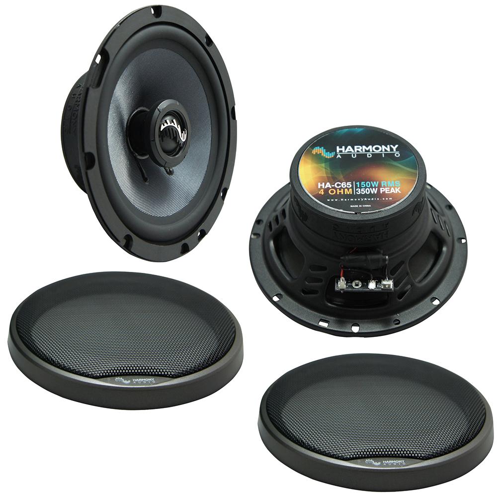 Fits Hyundai Tiburon 2003-2008 Front Door Replacement Harmony HA-C65 Premium Speakers