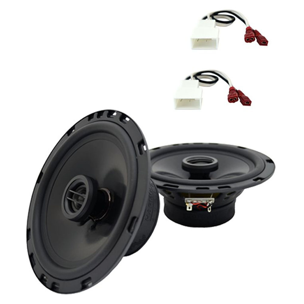 Fits Hyundai Tiburon 2003-2008 Front Door Replacement Harmony HA-R65 Speakers