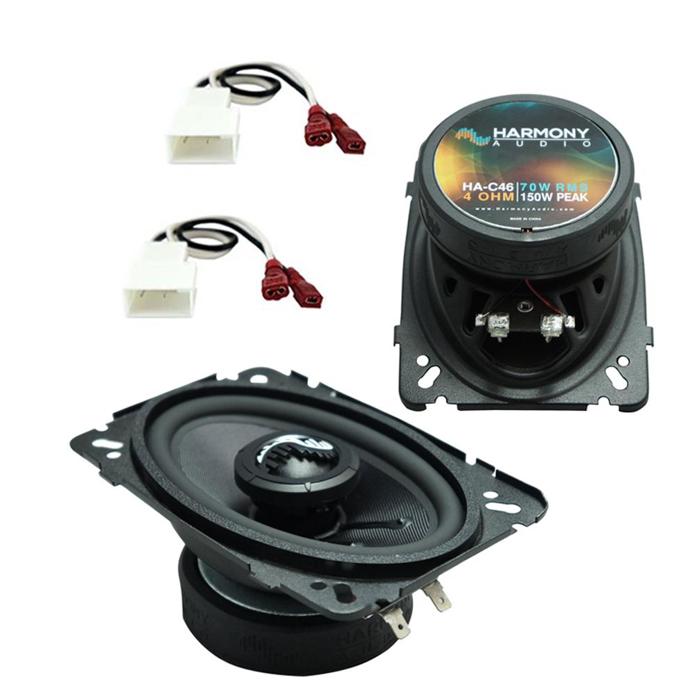 Fits Isuzu Rodeo 1995.5-1997 Rear Overhead Replacement Harmony HA-C46 Premium Speakers