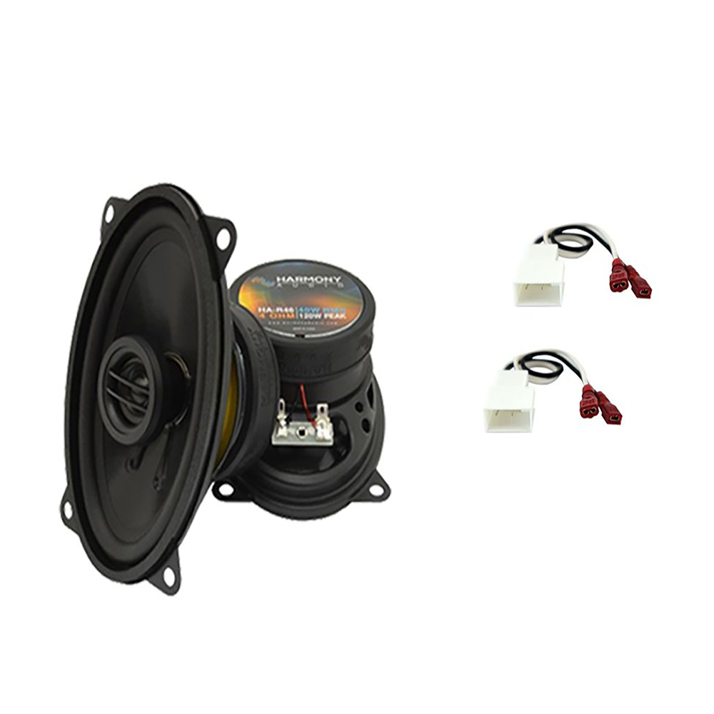 Fits Isuzu Rodeo 1995.5-1997 Rear Overhead Replacement Harmony HA-R46 Speakers