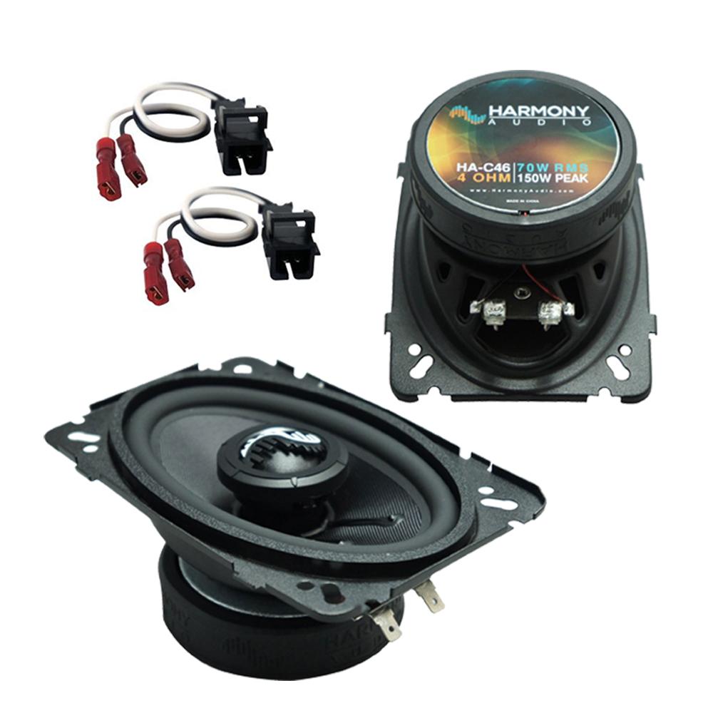 Fits Jeep Grand Cherokee 1993-1995 Front Door Replacement Harmony HA-C65 Premium Speaker