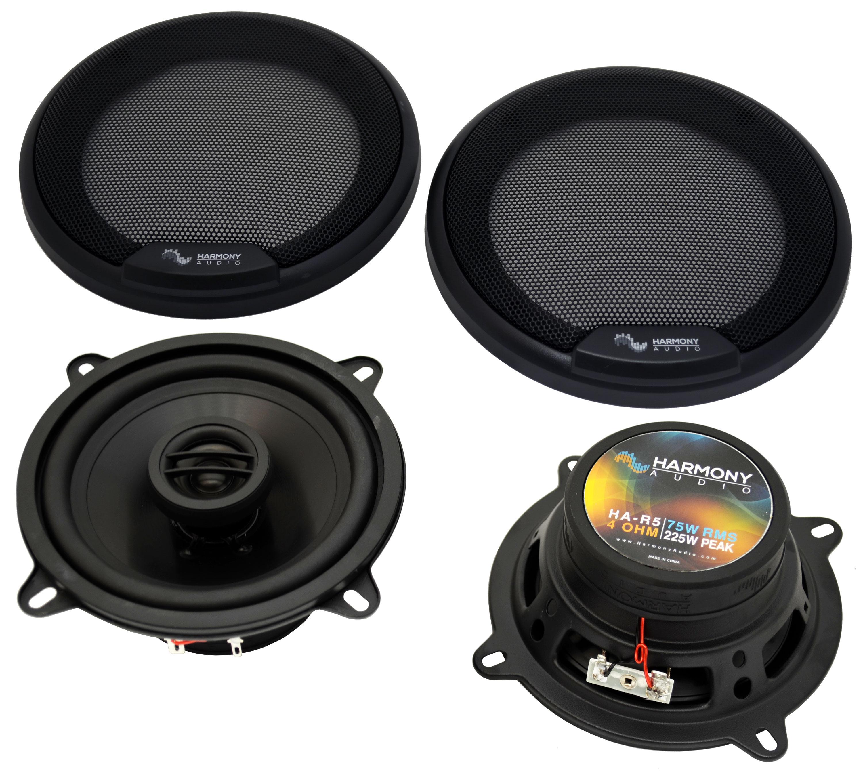Fits BMW X1 Vehicle 2016 Front Door Replacement Speaker Harmony HA-R5 Speakers
