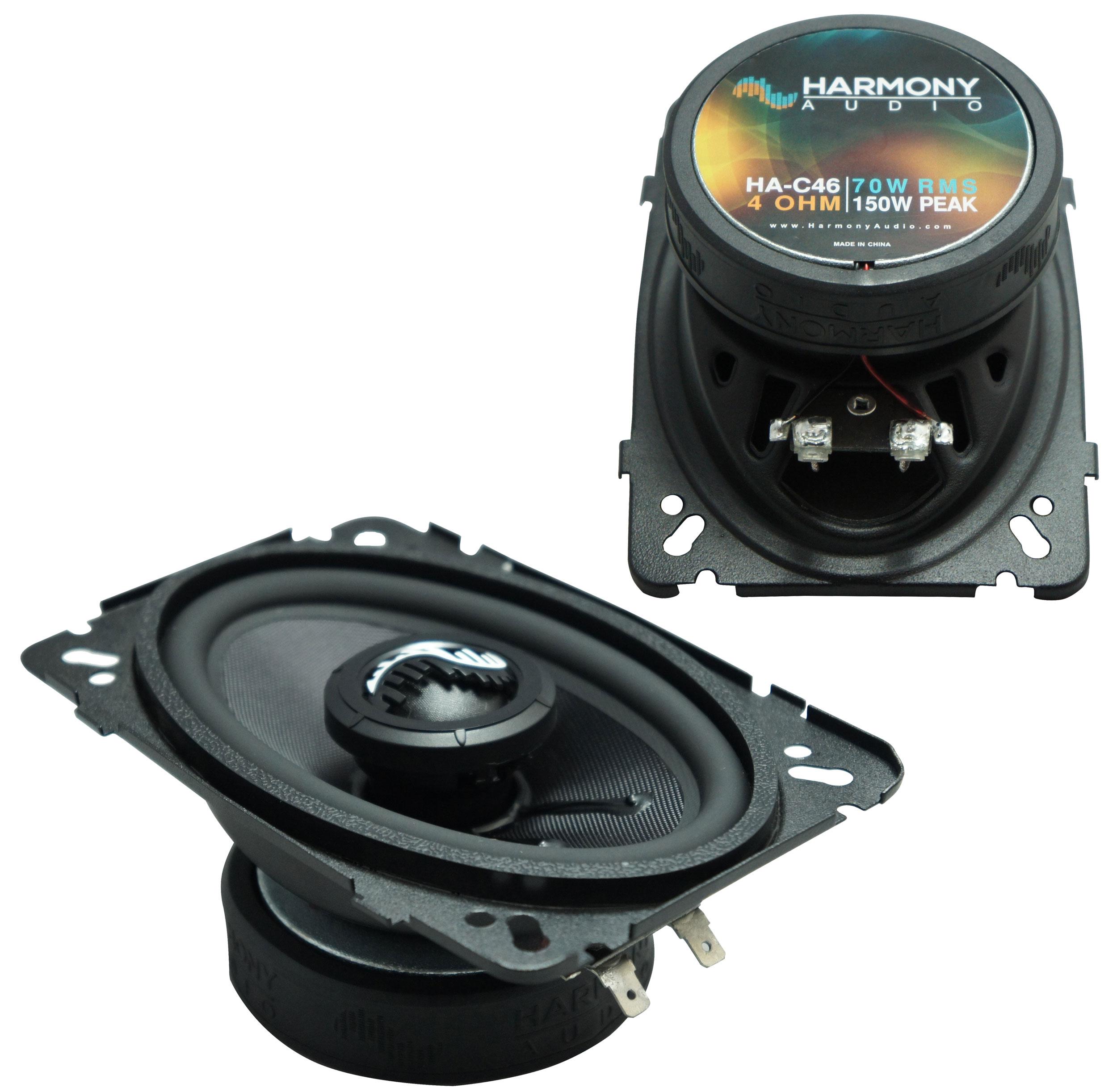 Fits Oldsmobile Alero 1999-2000 Front Door Replacement Speaker HA-C46 Premium Speakers