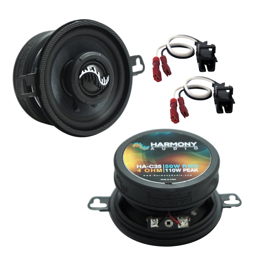 Fits Oldsmobile Bravada 2002-2004 Front Dash Replacement Harmony HA-C35 Premium Speakers