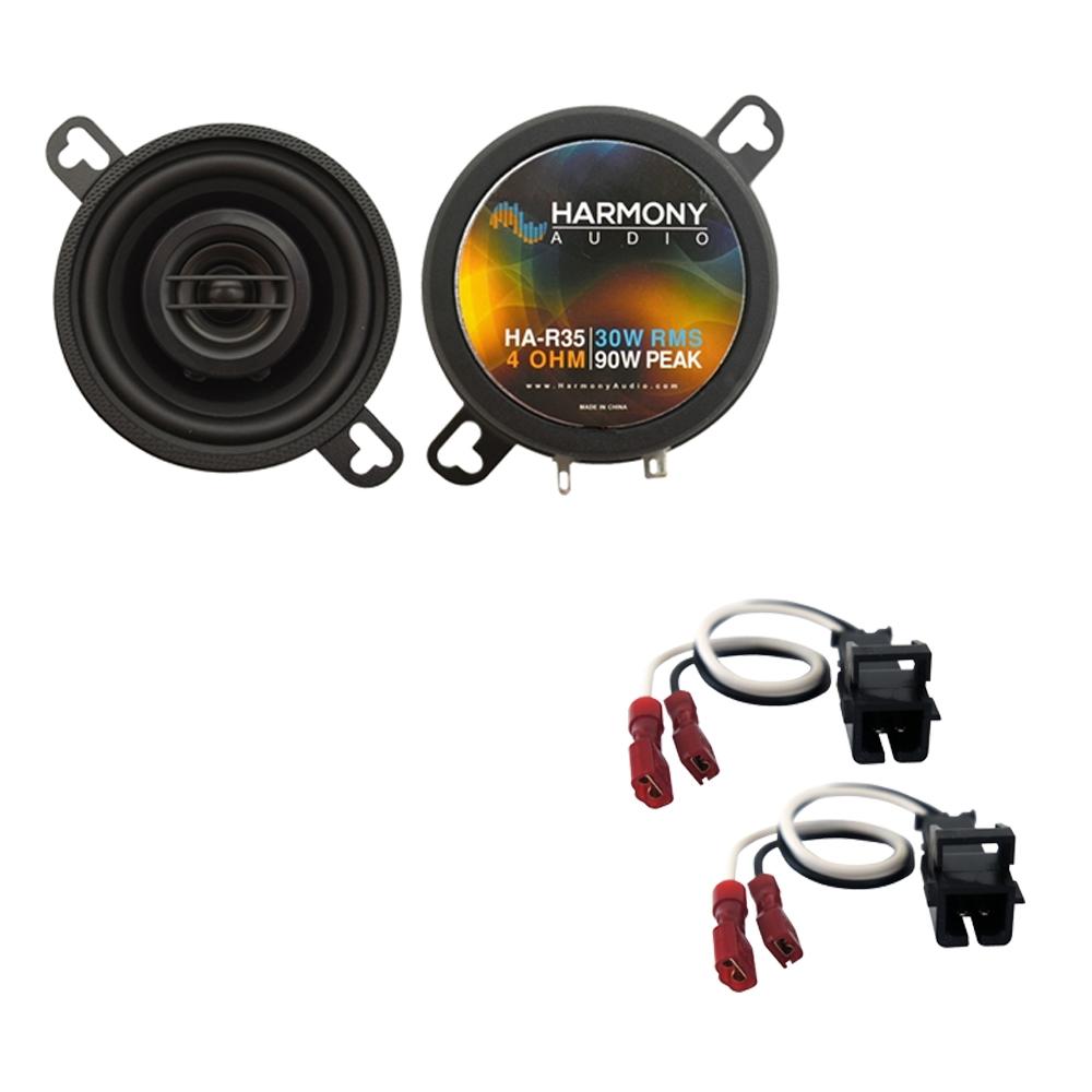 Fits Oldsmobile Bravada 2002-2004 Front Dash Replacement Harmony HA-R35 Speakers