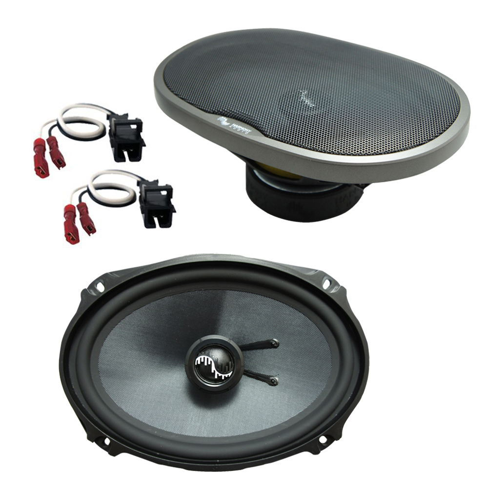 Fits Buick Park Avenue 1997-2005 Rear Deck Replacement Harmony HA-C69 Premium Speakers