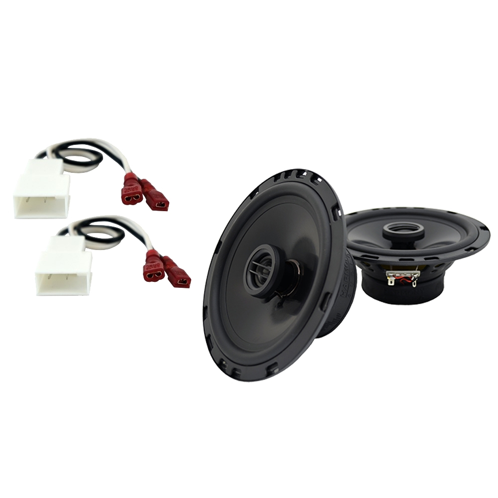 Fits Scion xB 2004-2015 Front Door Replacement Speaker Harmony HA-R65 Speakers