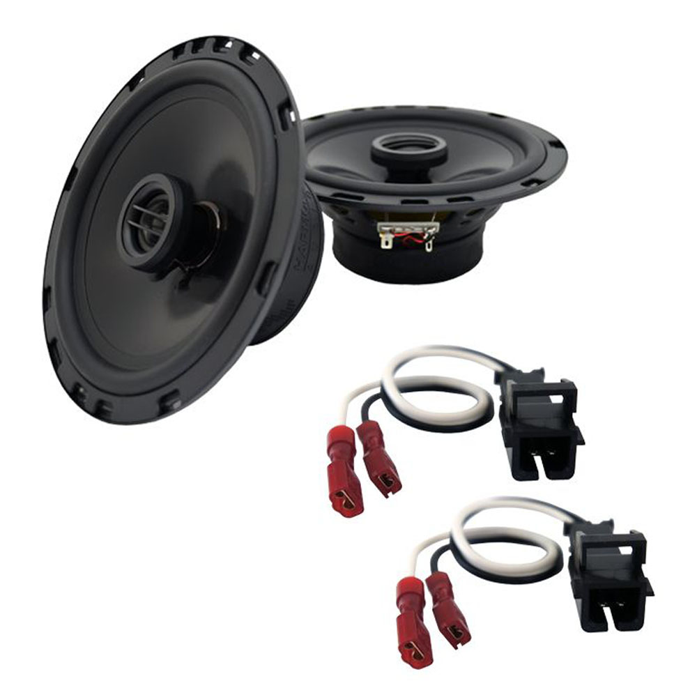 Fits Buick Riviera 1996-1999 Front Door Replacement Harmony HA-R65 Speakers New