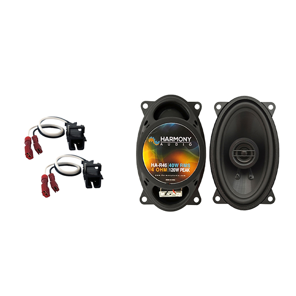 Fits Buick Skylark 1996-1998 Front Dash Replacement Harmony HA-R46 Speakers New