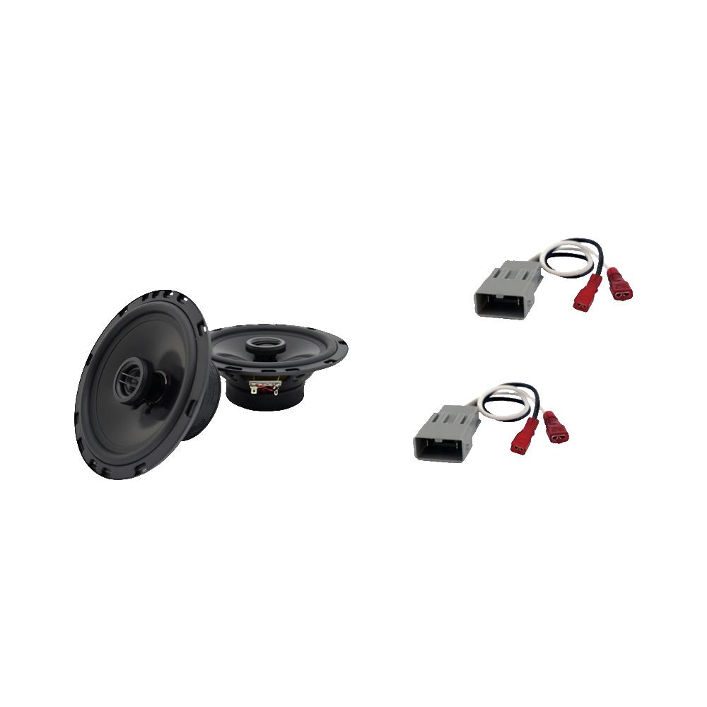 Fits Acura RL 1999-2013 Front Door Replacement Speaker Harmony HA-R65 Speakers