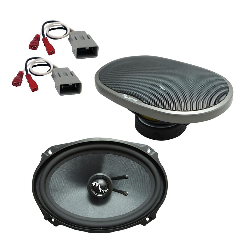 Fits Acura RL 1999-2013 Rear Deck Replacement Speaker Harmony HA-C69 Premium Speakers