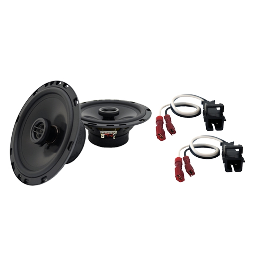 Fits Cadillac DeVille 1988-1989 Front Door Replacement Harmony HA-R65 Speakers