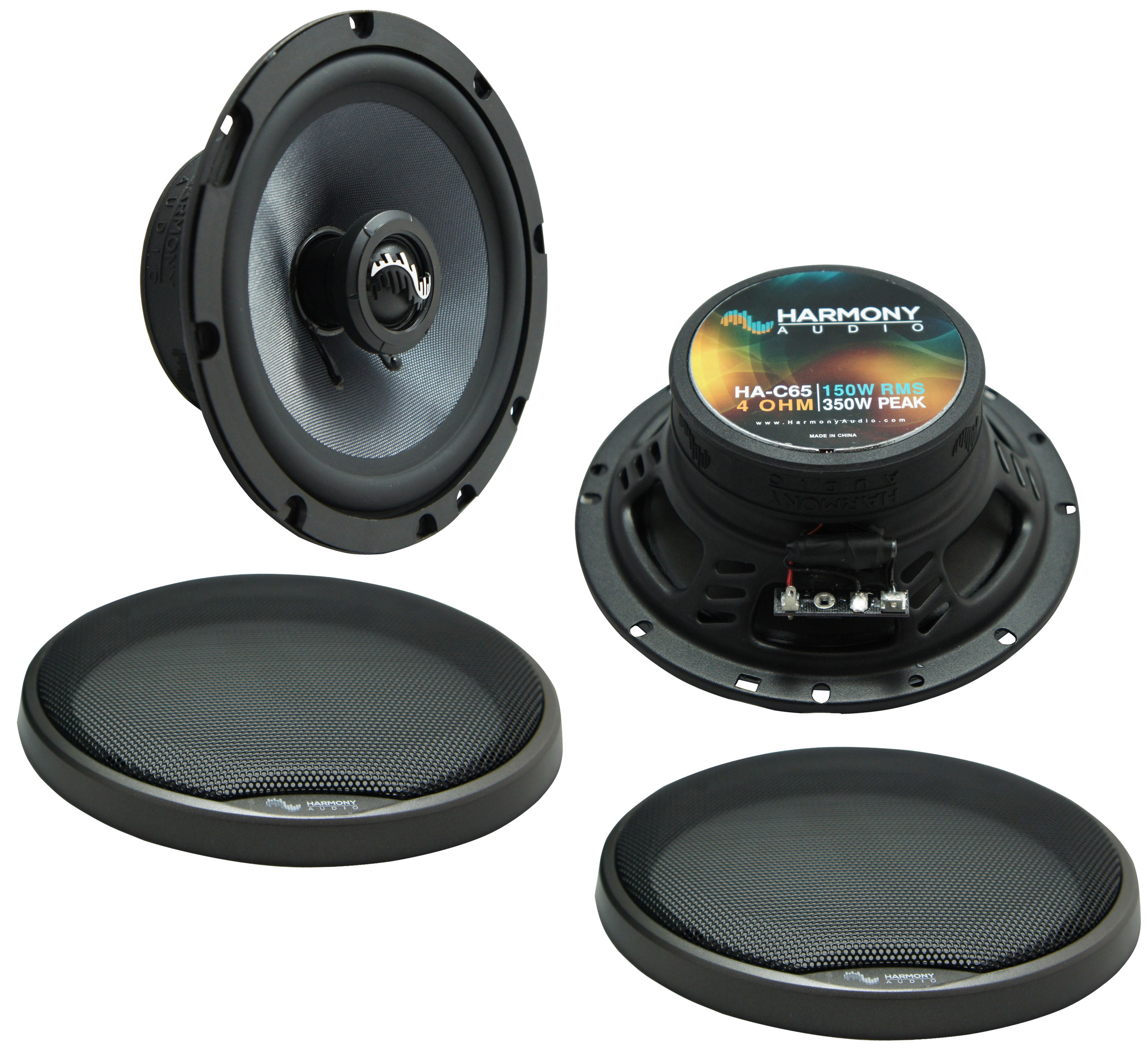 Fits Cadillac DeVille 2000-2005 Front Door Replacement Harmony HA-C65 Premium Speakers