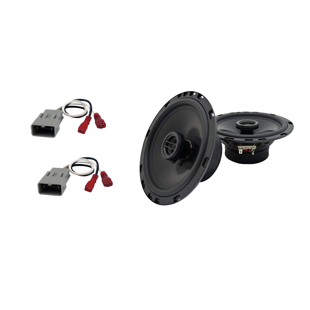Fits Acura Integra 1986-1989 Side Shelf Replacement Harmony HA-R65 Speakers New