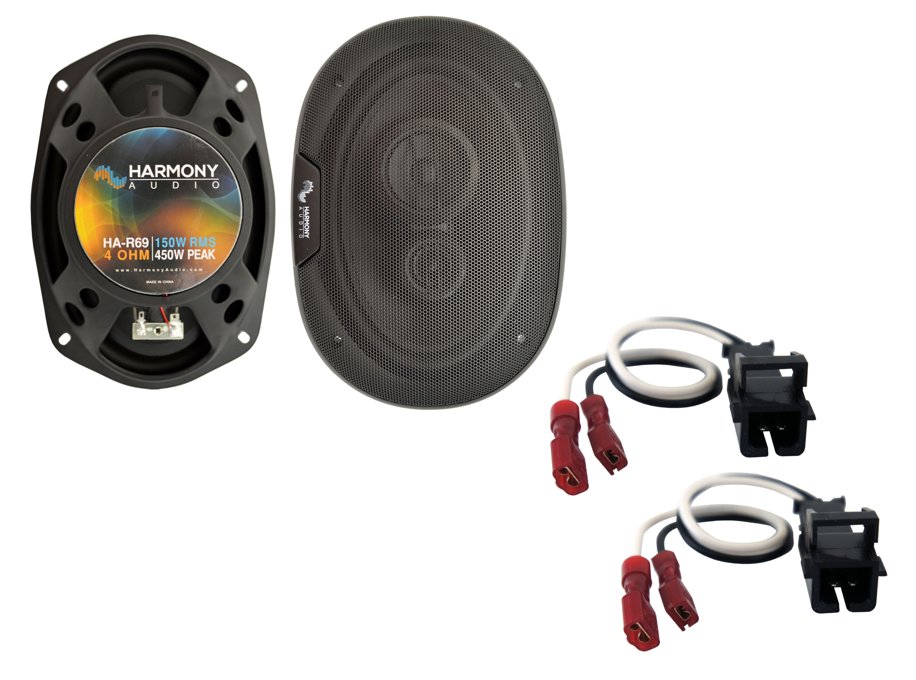 Fits Chevy Beretta 1991-1996 Rear Deck Replacement Harmony HA-R69 Speakers
