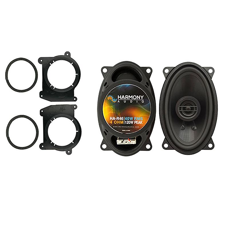 Fits Chevy Blazer 1998-2005 Rear Pillar Replacement Harmony HA-R46 Speakers