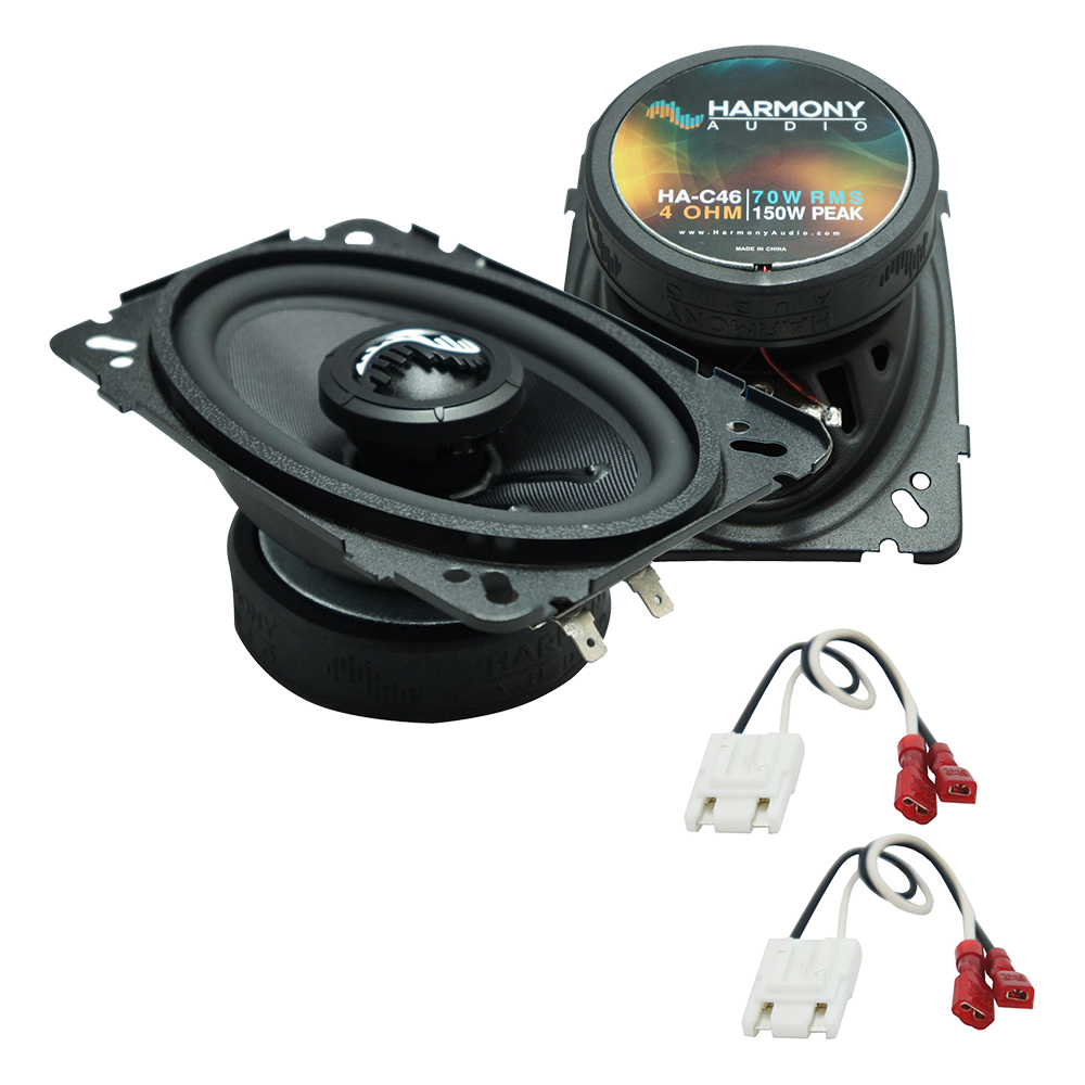 Fits Chevy CK Pickup 1988-1994 Front Dash Replacement HA-C46 Premium Speakers New