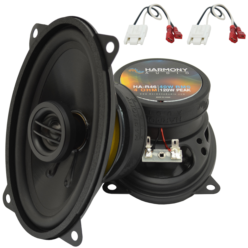 Fits Chevy CK Pickup 1988-1994 Rear Pillar Replacement HA-R46 Speakers New