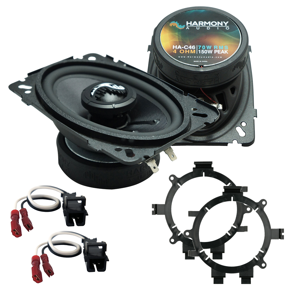Fits Chevy CK Pickup 1995-2000 Rear Pillar Replacement HA-C46 Premium Speakers New