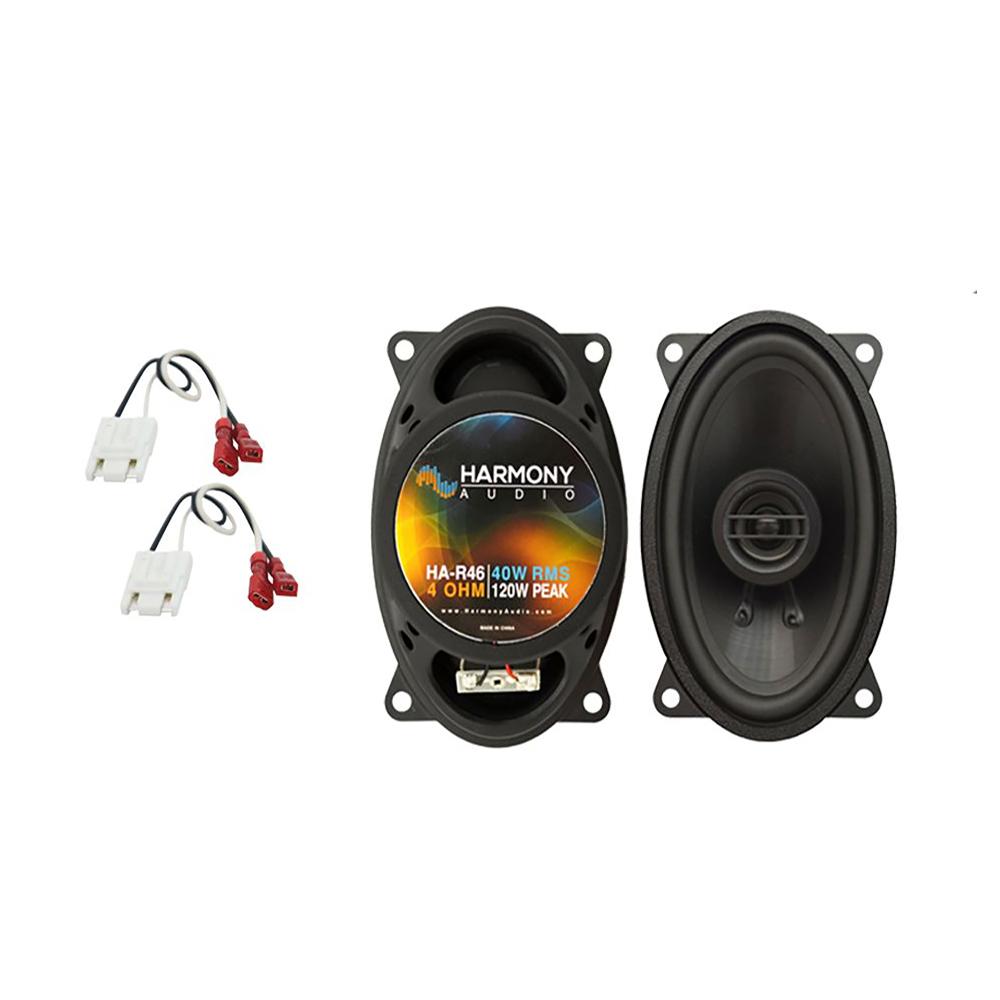 Fits Chevy Caprice 1991-1993 Front Door Replacement Harmony HA-R46 Speakers