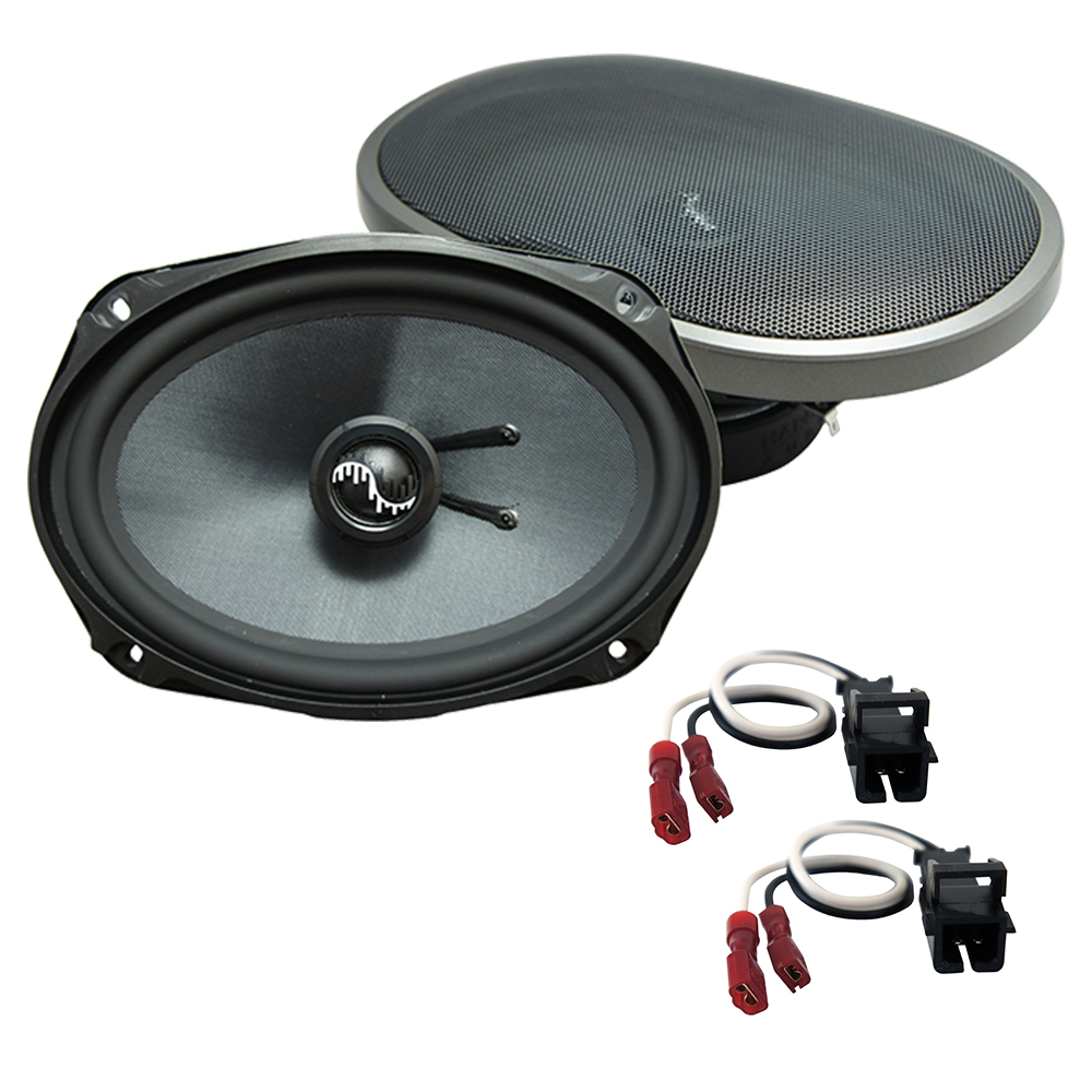 Fits Chevy Caprice 1994-1996 Rear Deck Replacement Harmony HA-C69 Premium Speakers