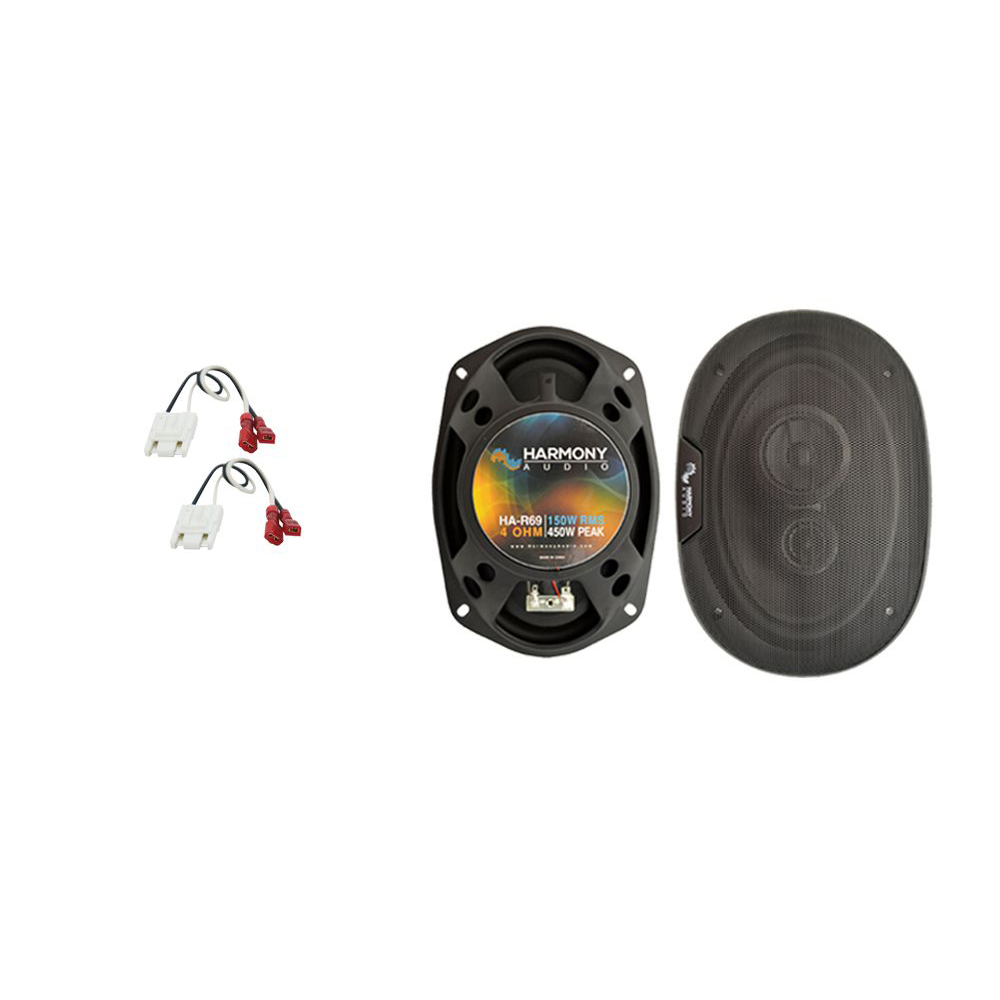 Fits Chevy Cavalier 1982-1990 Rear Deck Replacement Harmony HA-R69 Speakers