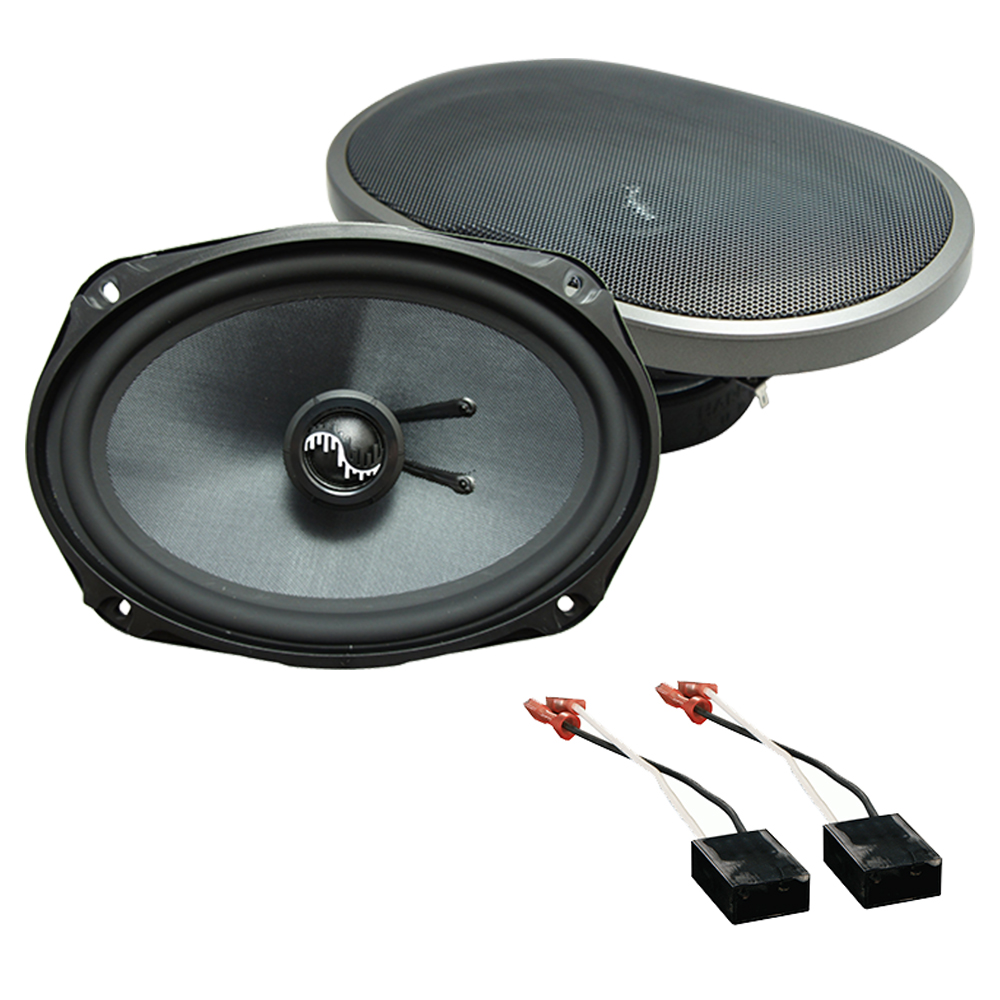 Fits Chevy Cavalier 1991-1994 Rear Deck Replacement Harmony HA-C69 Premium Speakers
