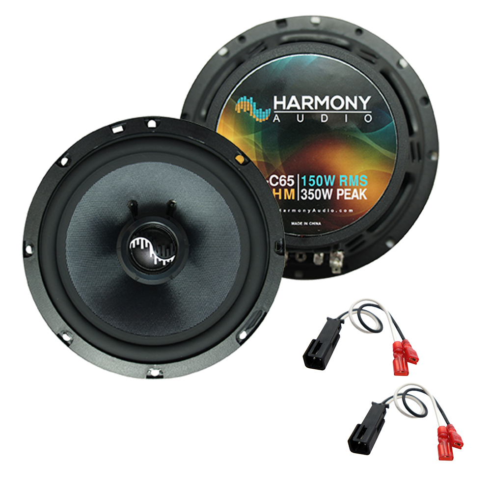 Fits Chevy Corvette 1997-2004 Front Door Replacement Harmony HA-C65 Premium Speakers