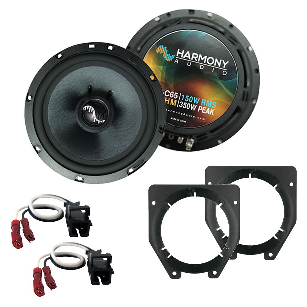 Fits Chevy Express 1996-2007 Front Door Replacement Harmony HA-C65 Premium Speakers
