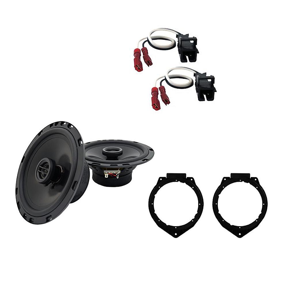 Fits Chevy HHR 2006-2012 Front Door Replacement Harmony HA-R65 Speakers New