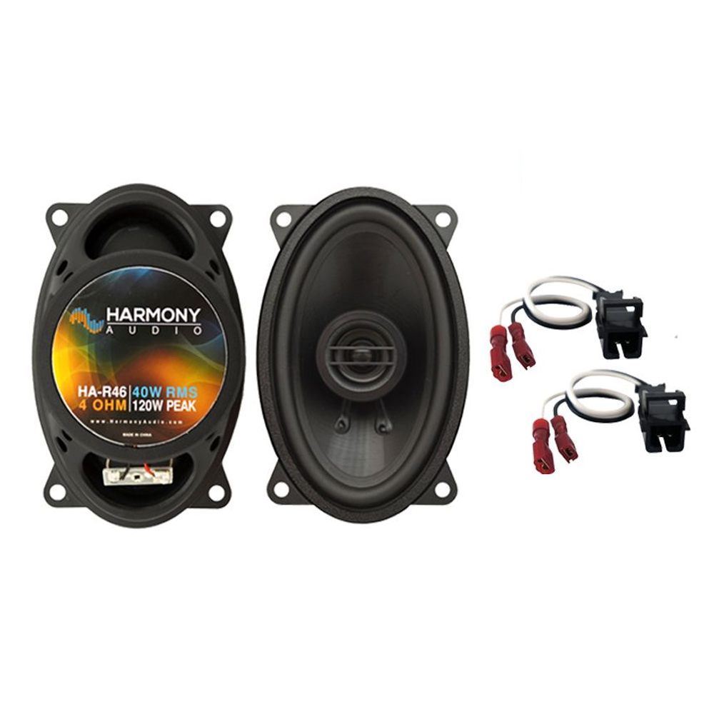 Fits Chevy Impala 1994-1996 Front Door Replacement Harmony HA-R46 Speakers