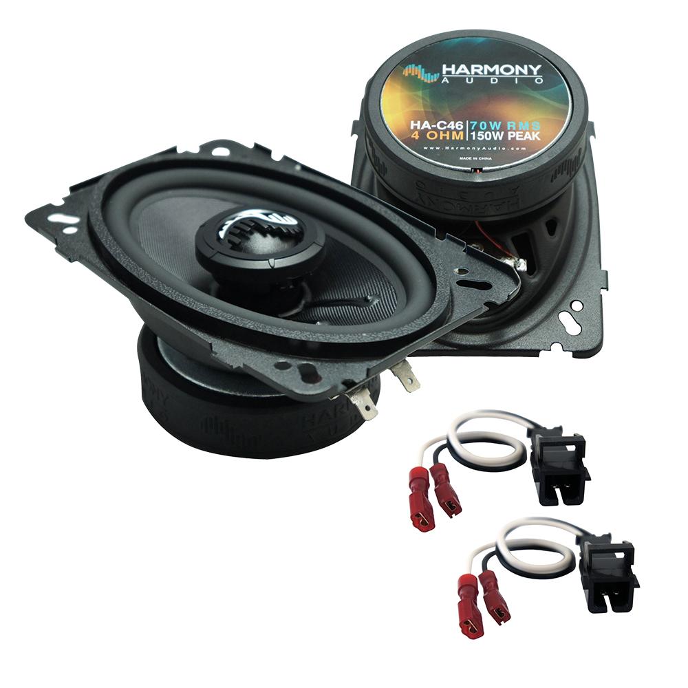 Fits Chevy Malibu 1997-2003 Front Door Replacement Harmony HA-C46 Premium Speakers