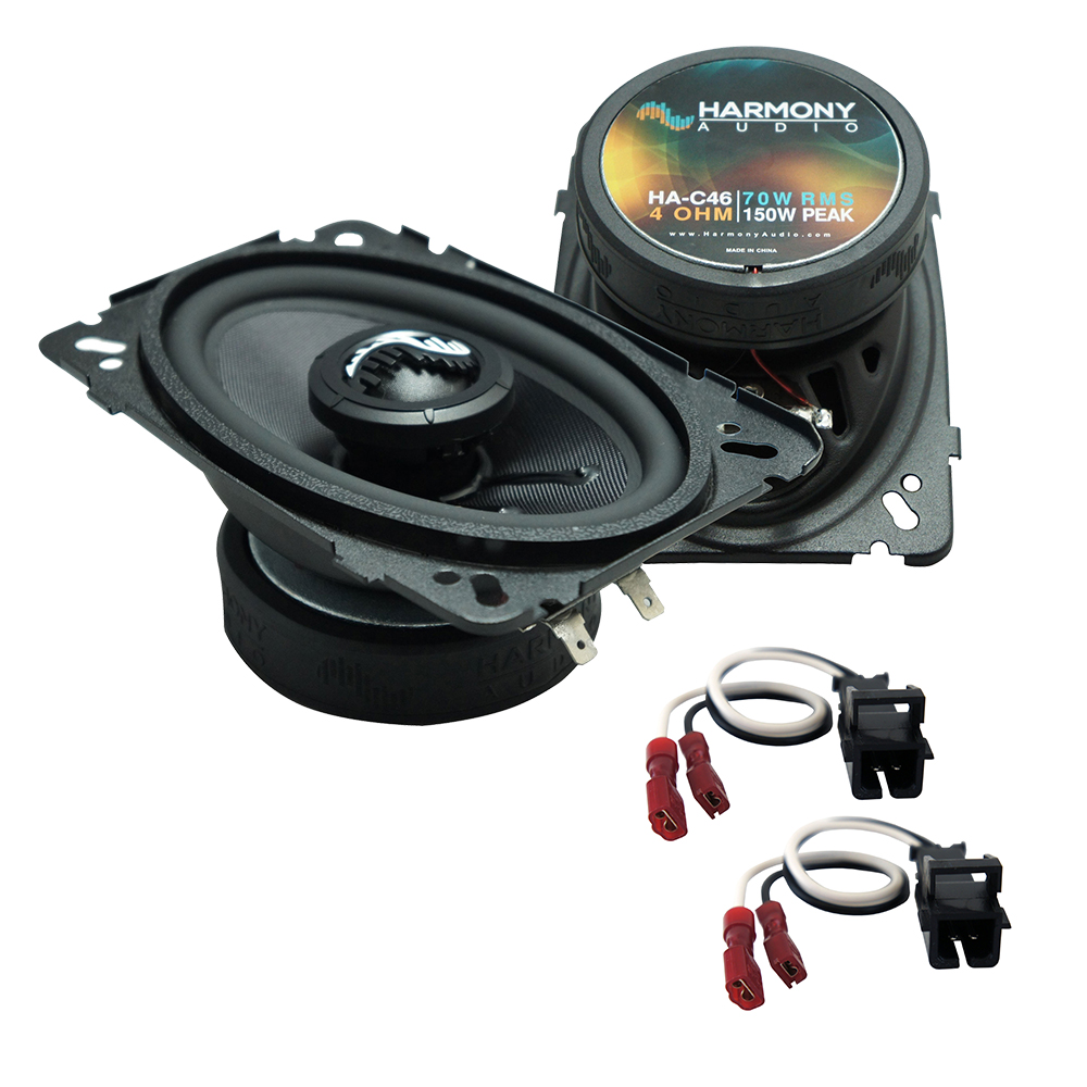 Fits Chevy S-10 Pickup 2002-2004 Front Dash Premium Speaker Replacement Harmony HA-C46 New
