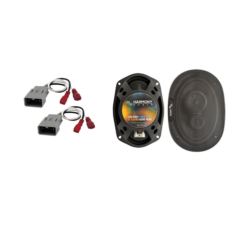 Fits Acura Vigor 1992-1994 Rear Deck Replacement Speaker Harmony HA-R69 Speakers