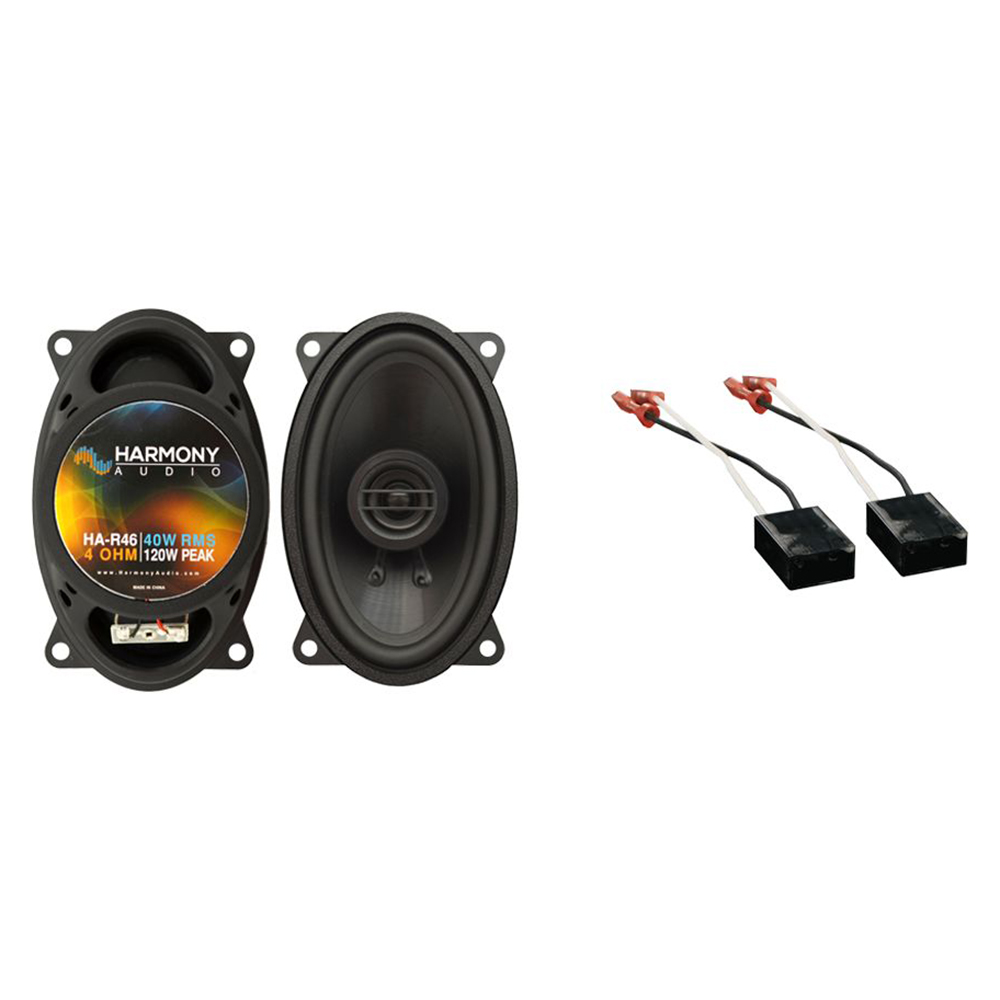 Fits Chevy Van 1988-1995 Front Dash Replacement Harmony HA-R46 Speakers New