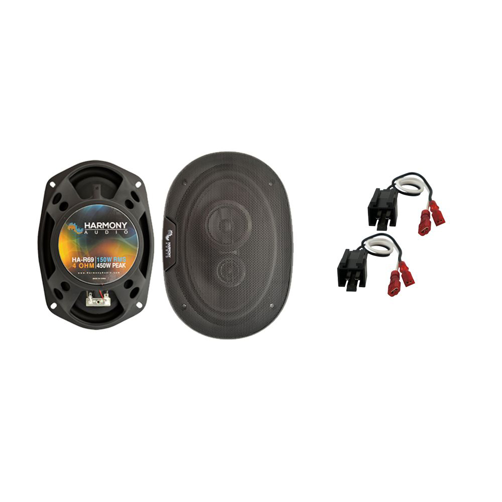 Fits Chrysler Sebring Coupe 2001 Rear Deck Replacement Harmony HA-R69 Speakers