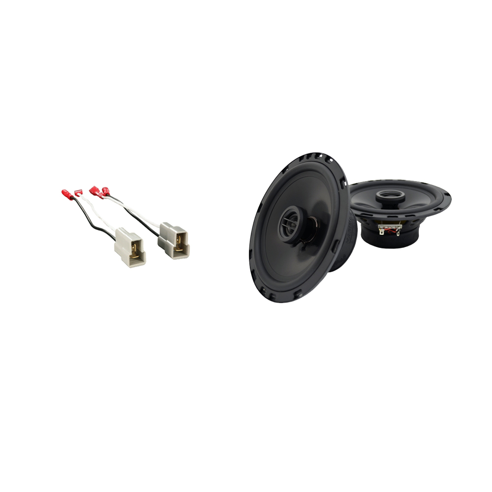 Fits Audi 5000 Series 1980-1988 Rear Deck Replacement Harmony HA-R65 Speakers